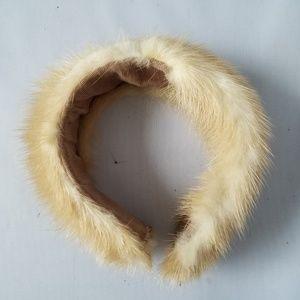 Kaufmann's Fifth Ave Vintage Fox Fur Headband